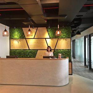 Reception Area Virtual Office