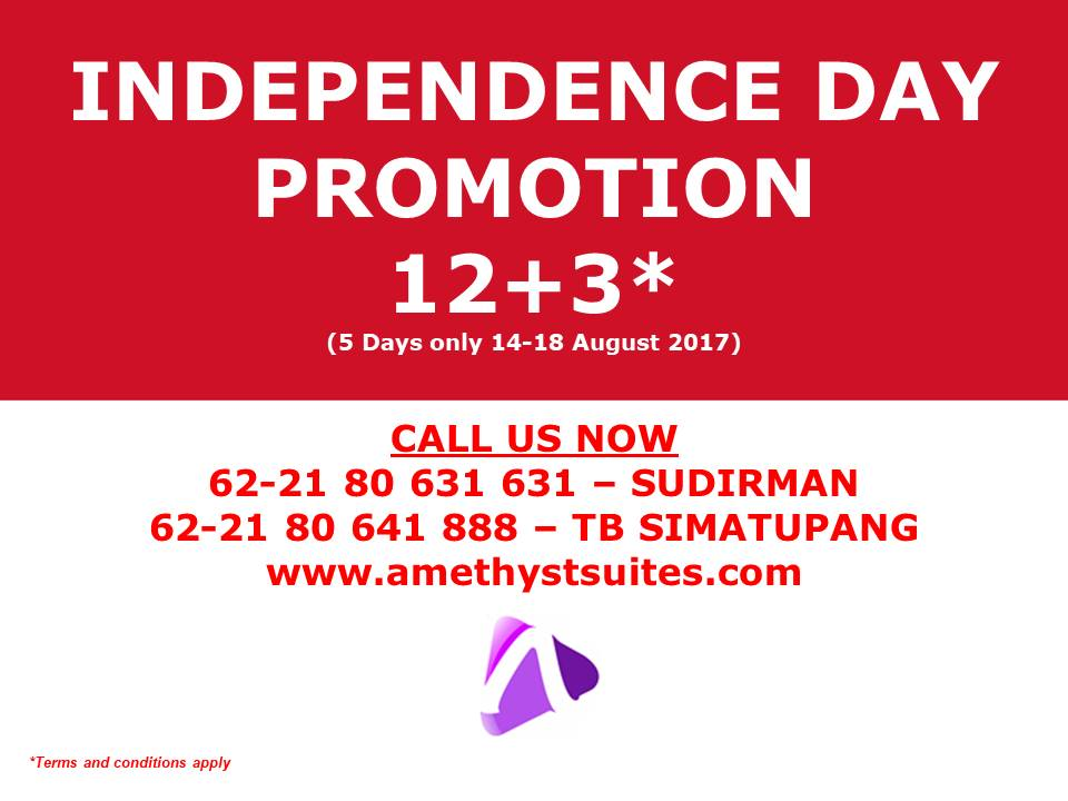 INDEPENDENCE DAY PROMOTION 12+3