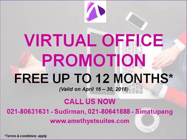 April Virtual Office Promotion Jakarta